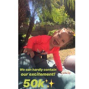 Hip Hip Hooray 🥳 We reached 50K ✨✨